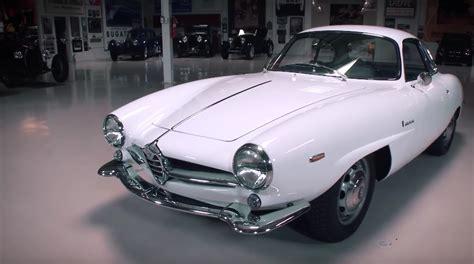 Jay Leno Examines A 1965 Alfa Romeo Giulia Sprint Speciale