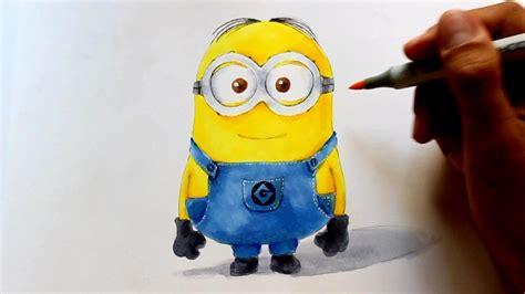 wie zeichnet man minions   optik ich einfach