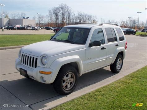 jeep liberty white 2004 stone white jeep liberty limited 4x4 55956880 photo