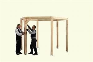 Holz Pavillon 3x3 Selber Bauen : holz pavillon 6 eckig bauanleitung ~ Whattoseeinmadrid.com Haus und Dekorationen