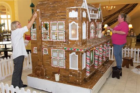gingerbread house takes  sweet spot  spa city hotel
