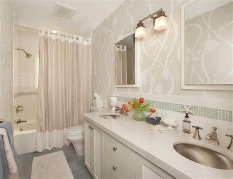 bathroom drapery ideas your bathroom look larger with shower curtain ideas