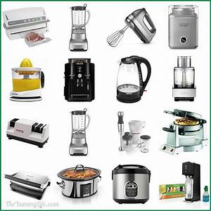 15 awesome small kitchen appliances for Kitchen appliances list