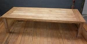 Table Exterieur En Bois : table teck exterieur ~ Teatrodelosmanantiales.com Idées de Décoration