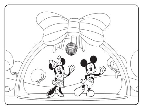 Top 76 Mickey Minnie Mouse Coloring Pages Free Page