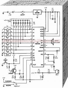 Individual Message Recorder Circuit Diagram