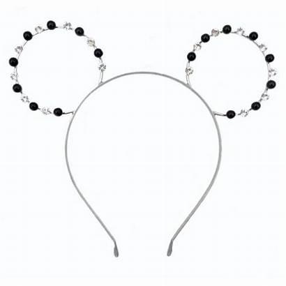 Mickey Headband Mouse Disney Metal Gems Hat