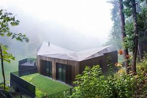 Toit Mansard U00e9 Et Parement Bois D U0026 39 Une Maison D U0026 39 Architecte