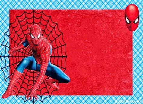 spiderman invitation template sampletemplatess