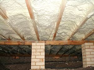 underfloor insulation stops draughts  cold floors