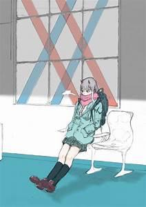 Wallpaper, Darling, In, The, Franxx, 2d, Fan, Art, Anime, Girls, Vertical, Jk, School, Uniform
