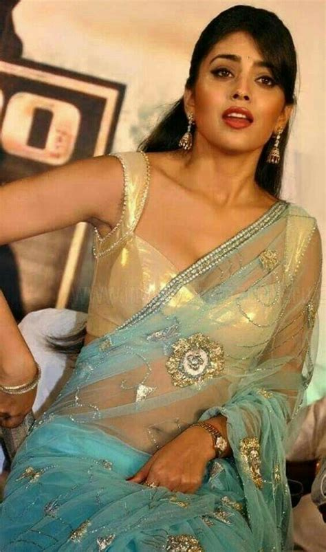 shriya shriya saree south indian beautiful indian
