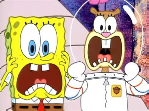 Sandy, Spongebob, And The Worm (gallery)