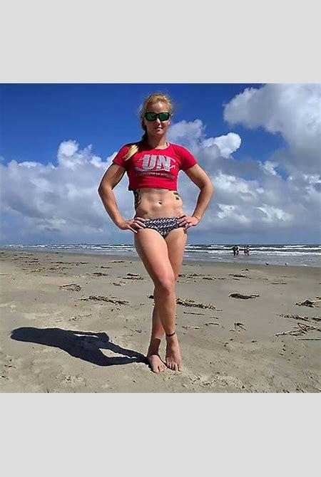 MMA fighter Valentina Shevchenko performs sexy dance on beach   Daily Star