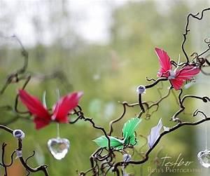 Schmetterlinge Aus Papier : kreativ ideen f r die sommerdeko h bsche schmetterlinge ~ Lizthompson.info Haus und Dekorationen