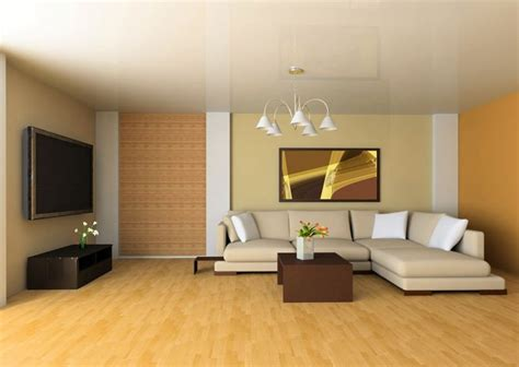 It includes a brick wall fitted with tinted glass windows. 20 Soft Beige Living Room Walls Ideas