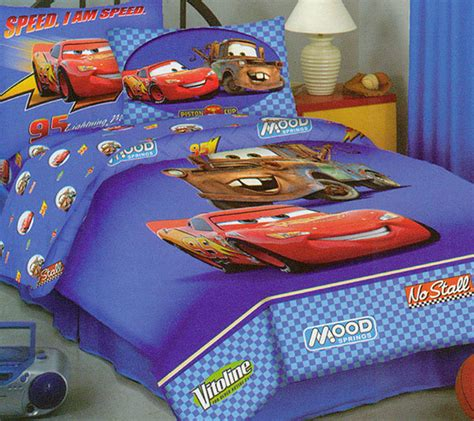 lightning mcqueen bedding set disney cars comforter sheet set twin bed