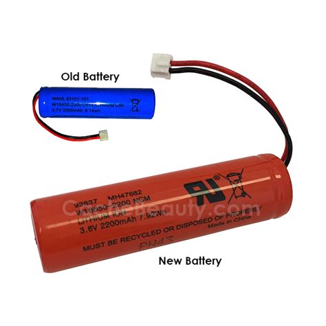 Wahl Battery #93151-101 for Sterling Eclipse Clipper
