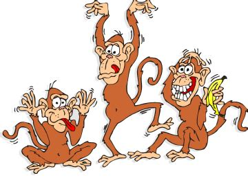 3monkeys cartoon