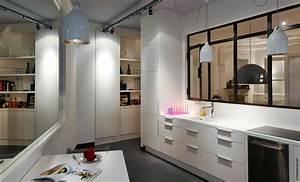cuisine avec verriere cuisine pinterest cuisine avec With cuisine avec verriere interieur
