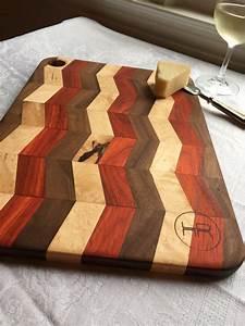 hand, made, hardwood, cutting, board