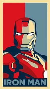 Iron Man Poster iPhone 5 Wallpaper (640x1136)