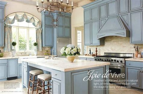 blue country kitchen kitchens and kitchens on 4807