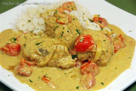 cuisiner la lotte au curry curry de lotte au lait de coco péché de gourmandise