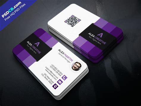 cool card template free modern business card template psd set