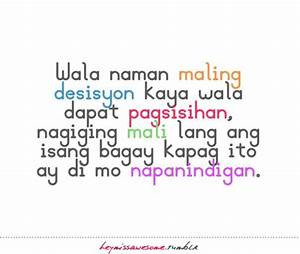 Tagalog Quotes About Love Triangles. QuotesGram