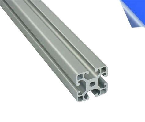 alu profil aluprofil 40x40 nut 8 aluminium profil alcliptec item kompatibel ebay