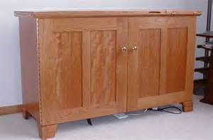 diy wood sewing cabinets plans free