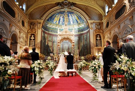Medieval Church Rome Church Wedding Rome Italy