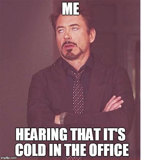 Cold Meme - quot cold in the office quot imgflip