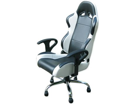 siege bureau blanc siege baquet fauteuil de bureau chaise de bureau baquet