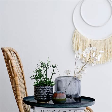 Another type of wall décor you can do yourself involves working with spray paint. Wall Decor by Bloomingville | Connox