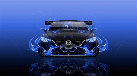 Mazda 6 4k Wallpapers by Mazda 6 Jdm Tuning Front Abstract Car 2015 Wallpapers