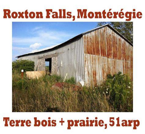 terre a bois a vendre monteregie roxton falls mont 233 r 233 gie terre agricole et terre 224 bois 224