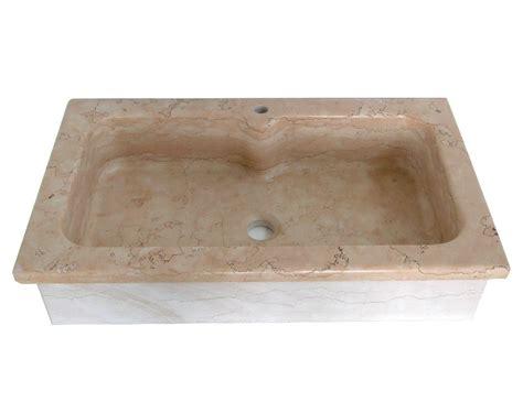 lavelli una vasca lavello cucina a incasso soprapiano in marmo rosa asiago
