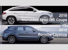 2018 Mercedes GLE Coupe vs 2019 Porsche Cayenne technical