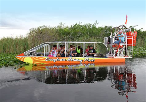 Fan Boat Orlando by Venture Into Wilderness On An Airboat Ride At Everglades