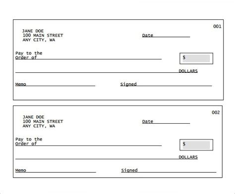 fillable blank check template fillable blank check template pdf affordable presentation background sles