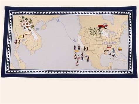 cartographic quilt national geographic society