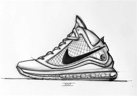 sketched history  jason petries nike lebron designs