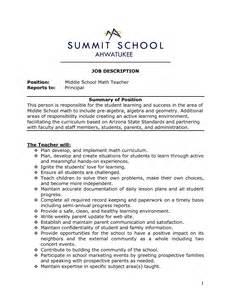 resume of math teachers maths resume sales lewesmr
