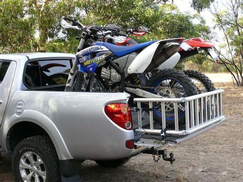 readyramp   dirt bikes  mitsubishi triton