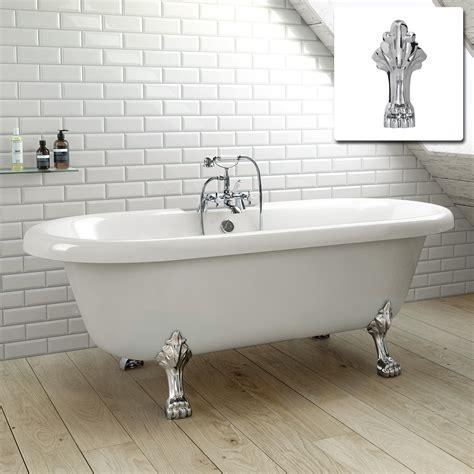 traditional tub large traditional freestanding roll top bath tub br221 ebay