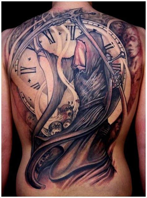 tatouage la faucheuse la faucheuse tatouage signification tatouage et tatouage dos