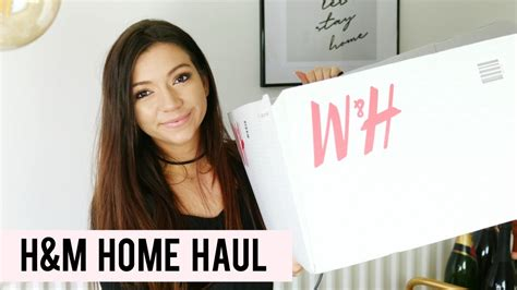 H&m Home Haul I Dizzybrunette3  Youtube