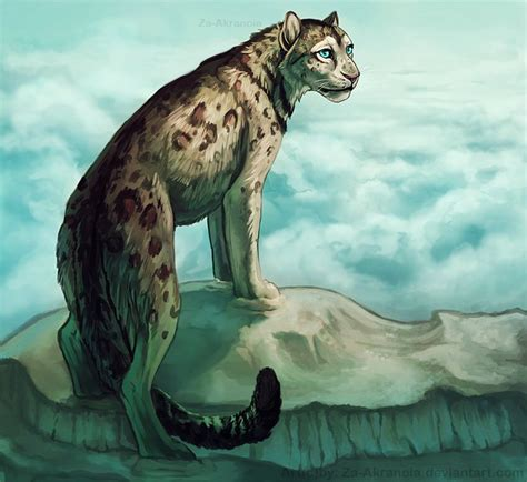 big cat fan fantasy art images  pinterest